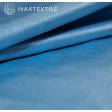 Экокожа перламутровая голубая 192-1-51-5