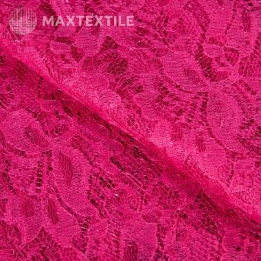 Кружево ярко-розовое 201-1-84-6