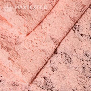 Эластичное кружево розовое 13-1-33-6