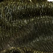 Сетка-плиссе золотая