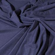 Сетка стреч темно-синяя