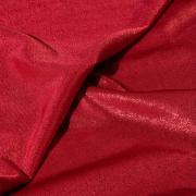 Эластичное полотно с лазерным фальгированием красное