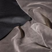 Костюмный бархат (замша) темно-серый