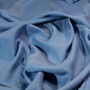 Штапель ярко-голубой
