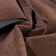 Костюмный бархат (замша) темно-коричневый