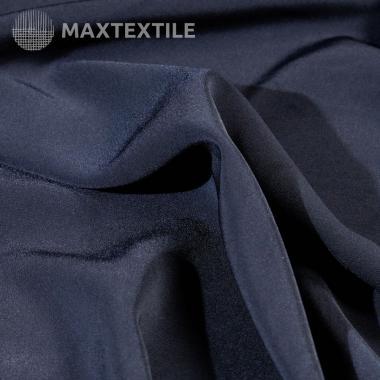Костюмный атлас темно-синий 192-1-33-1