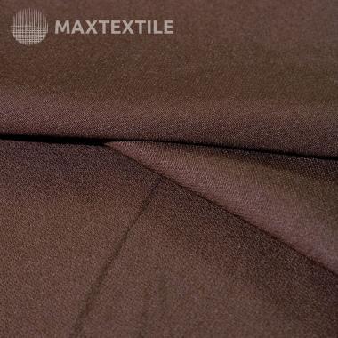 """Костюмная ткань """"барби"""" коричневая 181-1-32-1-5"""