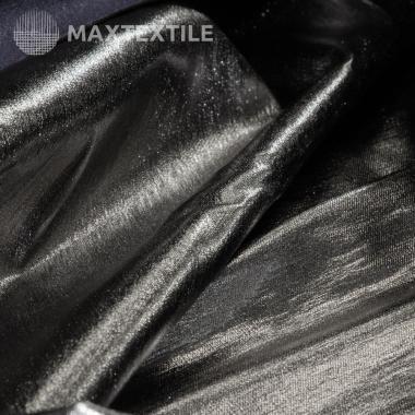 Парча стрейч темное серебро 192-1-91-1