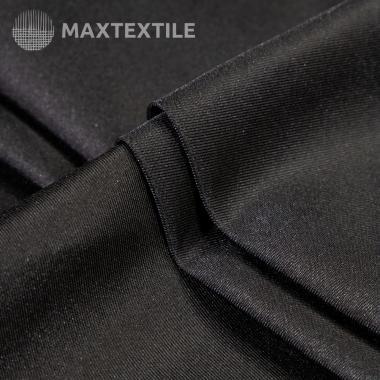 Ткань для тренчей черная 201-1-33-3