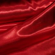 Креп-атлас красный