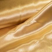 Креп-атлас светло-золотой