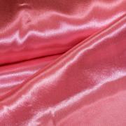 Креп-атлас темно-розовый