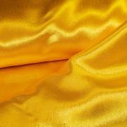 Креп-атлас желтый