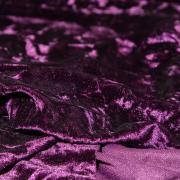 Крэш-бархат фиолетовый