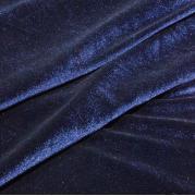 Бархат темно-синий