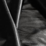 Экокожа би-эластичная черная (глянцевая)