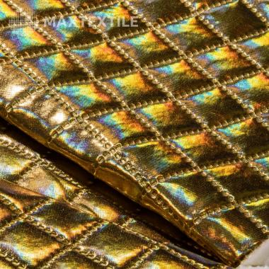 Ткань курточная 3-х слойная золото 192-1-9-1