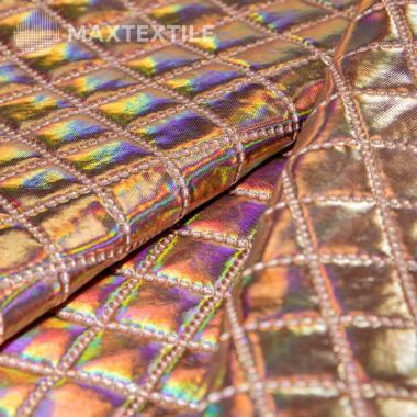 Ткань курточная 3-х слойная розовая 192-1-9-2