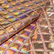 Ткань курточная 3-х слойная розовая