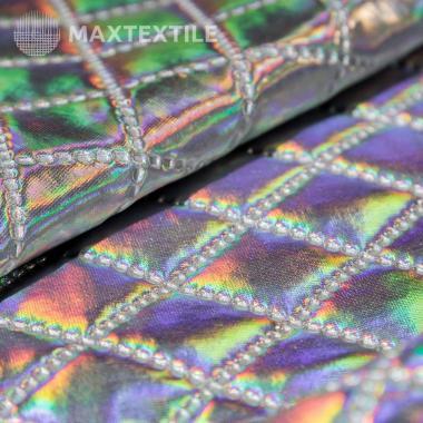 Ткань курточная 3-х слойная серебро 192-1-9-3