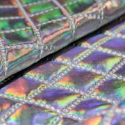 Ткань курточная 3-х слойная серебро