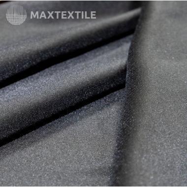 Ткань костюмная черная 201-1-30-1
