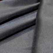 Ткань костюмная черная